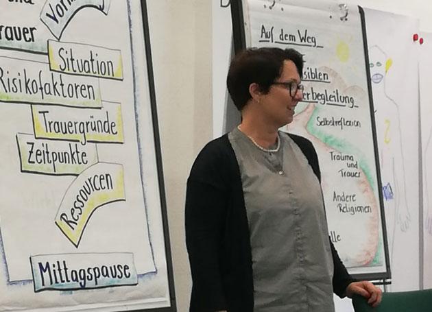 Ressoucenaktivierenden Trauerbegleitung Voneinander Lernen Chris Paul Trauerinstitut Deutschland