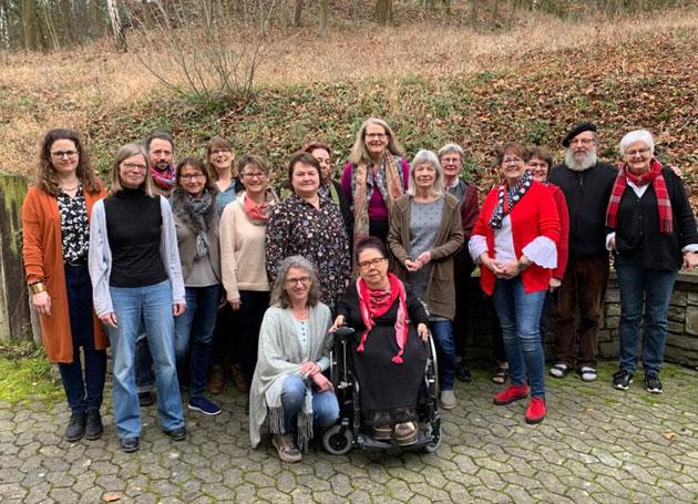 Suizidtrauer Gruppenfoto 2020 Chris Paul Trauerinstitut Deutschland