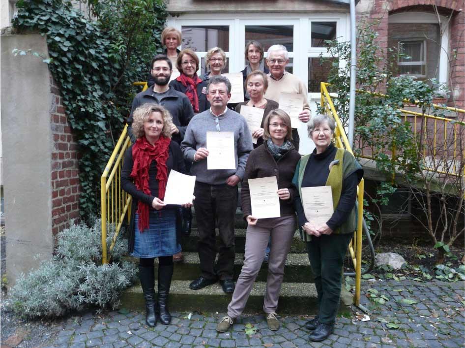 Trauerinstitut Deutschland Abschluss Aachen Dez 2013