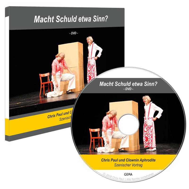 Video Macht Schuld Sinn Dvd Cover Chris Paul Trauerinstitut Deutschland