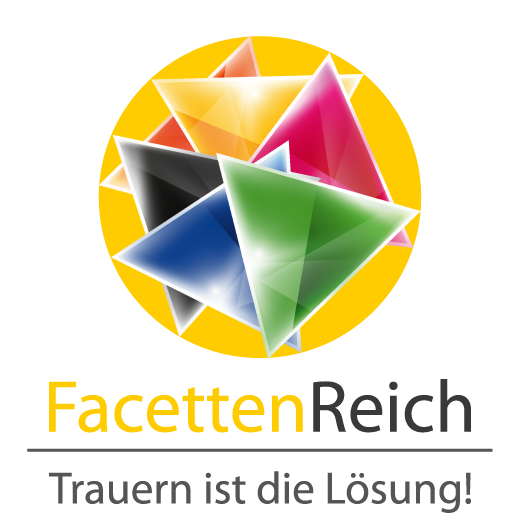 Logo Facettenreich Chris Paul Trauer