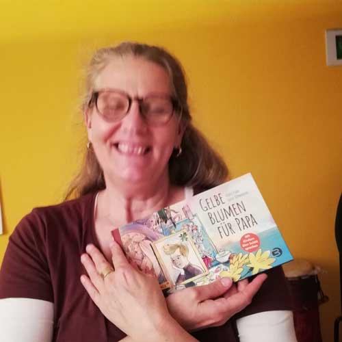 Buch Gelbe Blumen Fuer Papa Chris Paul Trauer