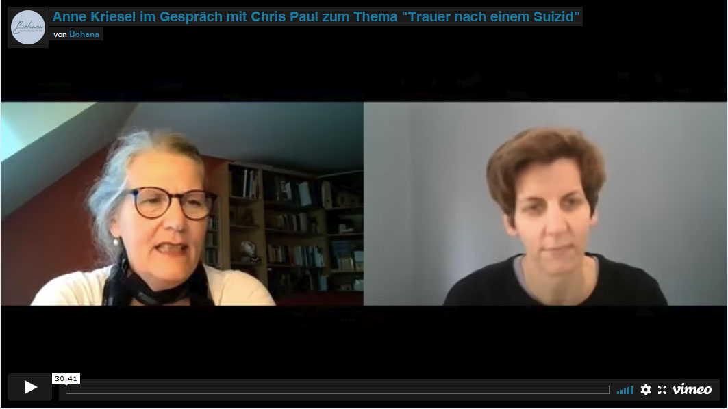 Vorschaubild Video Suizidtrauer Gespraech Anne Kriesel Chris Paul
